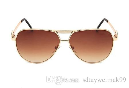 Высокое качество поляризованные линзы пилот мода солнцезащитные очки для мужчин и женщин бренд дизайнер старинные спортивные солнцезащитные очки с футляром и коробкой 5001
