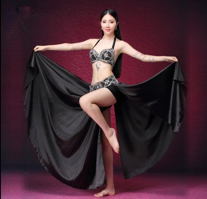 5b57f3799 Sexy Women Arabic Belly Dance Costume Bra Belt Side Slit Skirt Dancer Show Wear  Red Black Canada 2019 From Manxinxin, CAD $72.67 | DHgate Canada