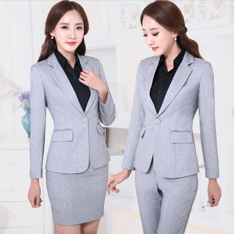 2018 spring 2017 office uniform designs women pant suits womens