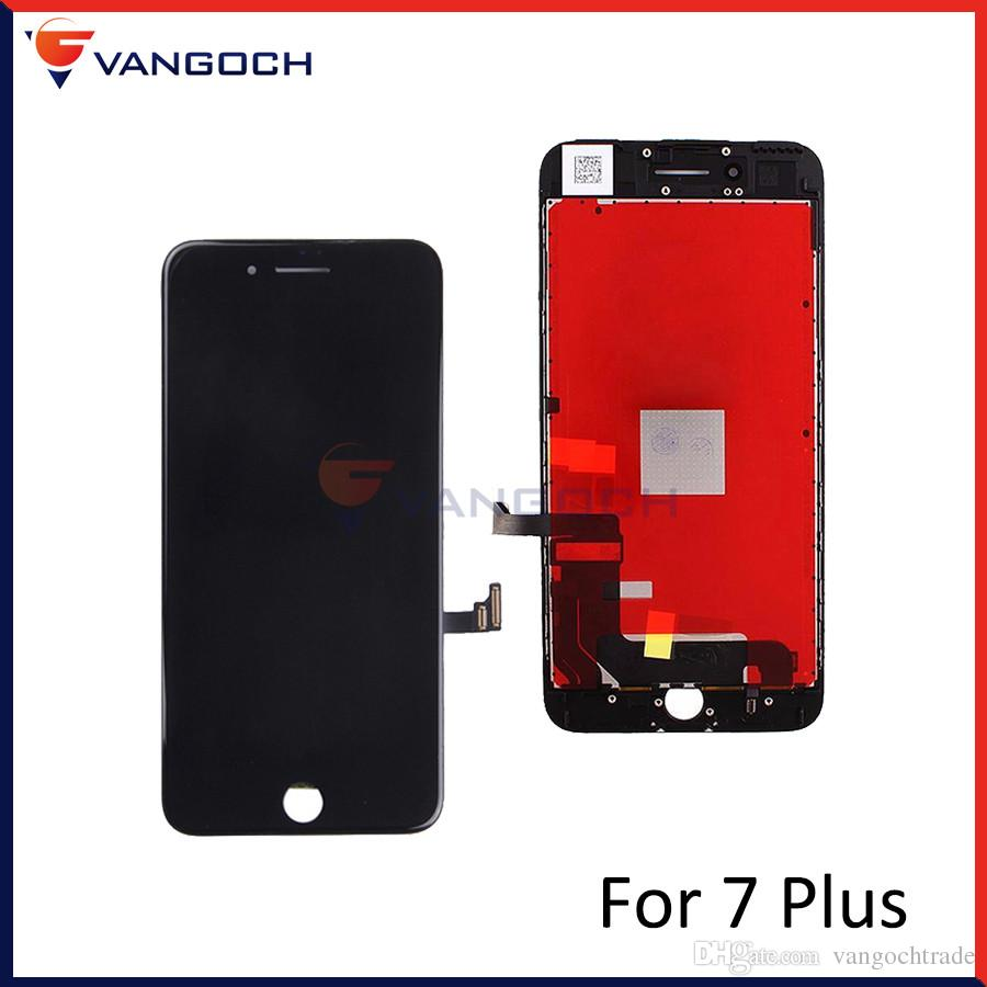 buy popular 9c075 77089 AAA Quality No Dead Pixel Display for iPhone 7 Plus LCD Replacement with 3D  Touch Assembly Screen Free DHL Shipping