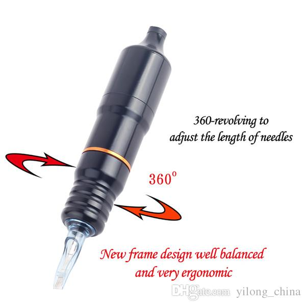 Aluminiumlegierung Carving Tattoo Pen Rotary Tattoo Maschine Präzision DC Motor Tattoo Stift Maschine für Tattooist Hot Günstige