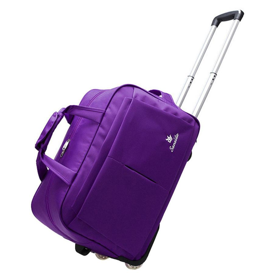 e301144aa62d Wheel Luggage Trolley Bag Women Travel Bags Hand Trolley Unisex Bag Large  Capacity Travel Bags Suitcase With Wheels School Backpacks Cool Backpacks  From ...