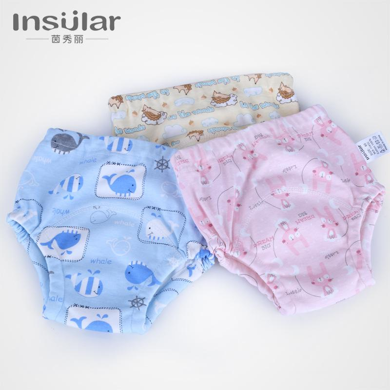 2019 Baby Potty Training Pants Nappies For Toddler Boys Girls Cotton Cloth Diapers Panties Washable Reusable From Ouronlinelife 2179