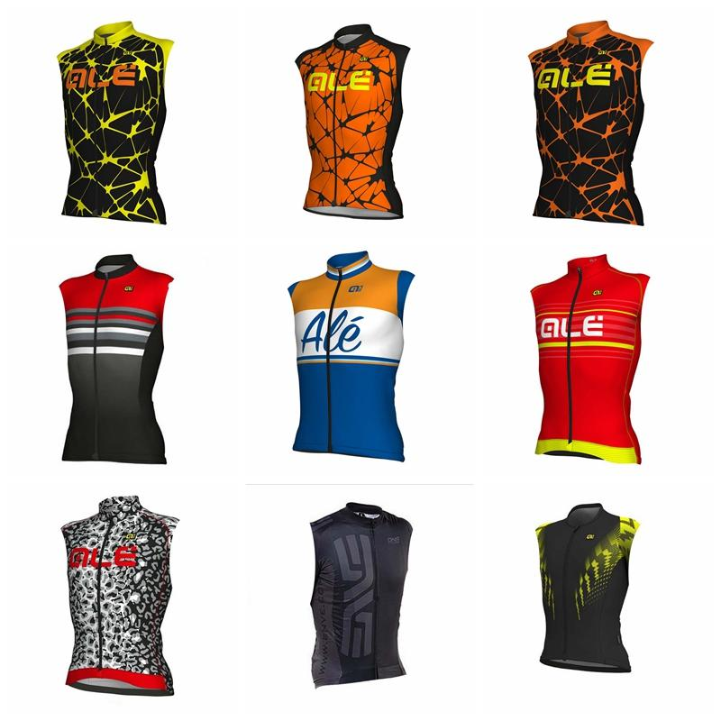 Ale Team Cycling Sleeveless Jersey Vest Bicycling Wear 2018 Men Summer The New  Wear Resistant Bicycle Jersey Great Value 92602x Cycling Trousers Biker T  ... 8d7cb5430