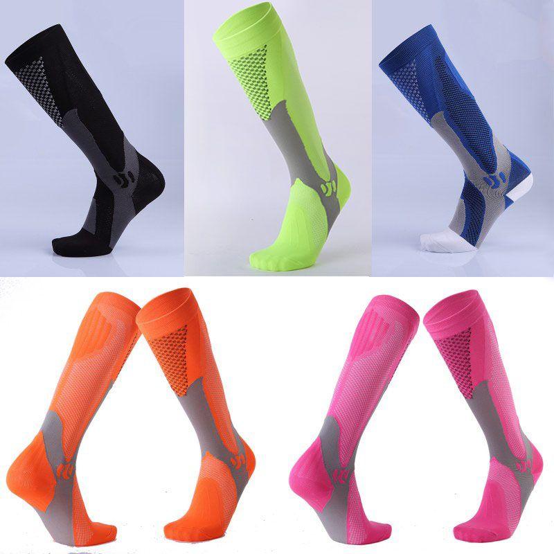 8fff7d02d 2019 Long Tube Socks Men And Women Marathon Outdoor Sport Socks Adult  Running Pressure Sock Compression Socks Custom LOGO FBA Dropshipping G481Q  From ...