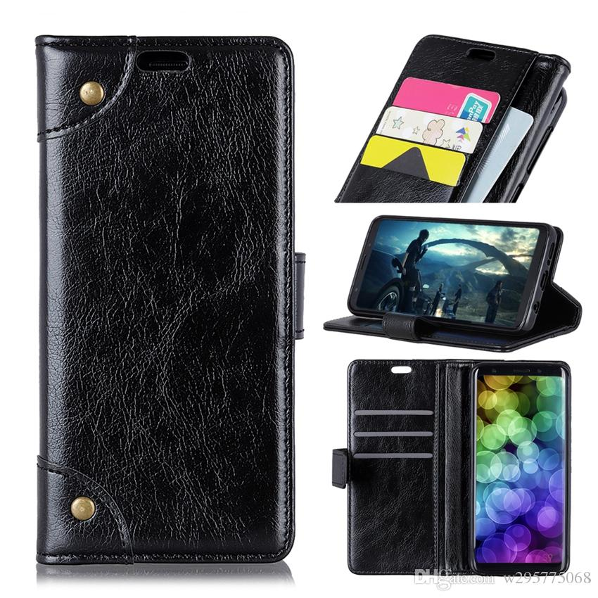 best service a9f56 25af8 Flip Case For LG K8 2017 2018 K10 2018 K11 2018 G7,PU Leather Wallet Cover  With Card Slots KickStand,Free Shipping