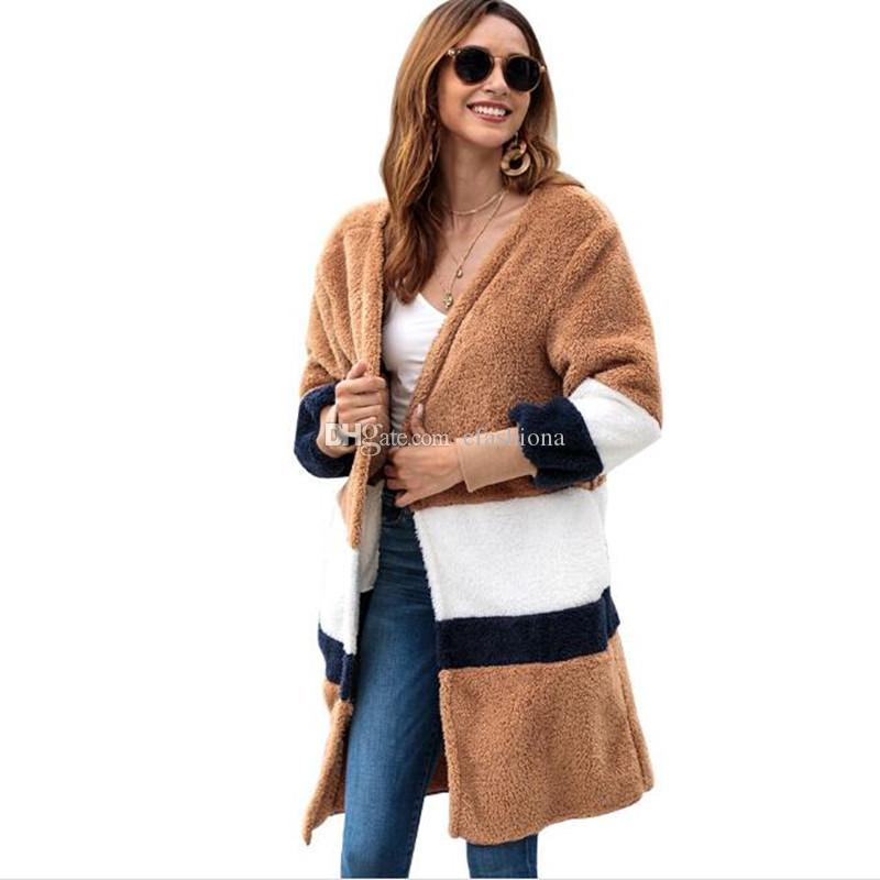 1f220423 2019 Europe America Women Casual Pompoms Coat Ladies Fall Sweat Lady Dresse  Clothing Newest Cardigan Jacket Fashion Outfit Girls Clothes CQ008 From ...