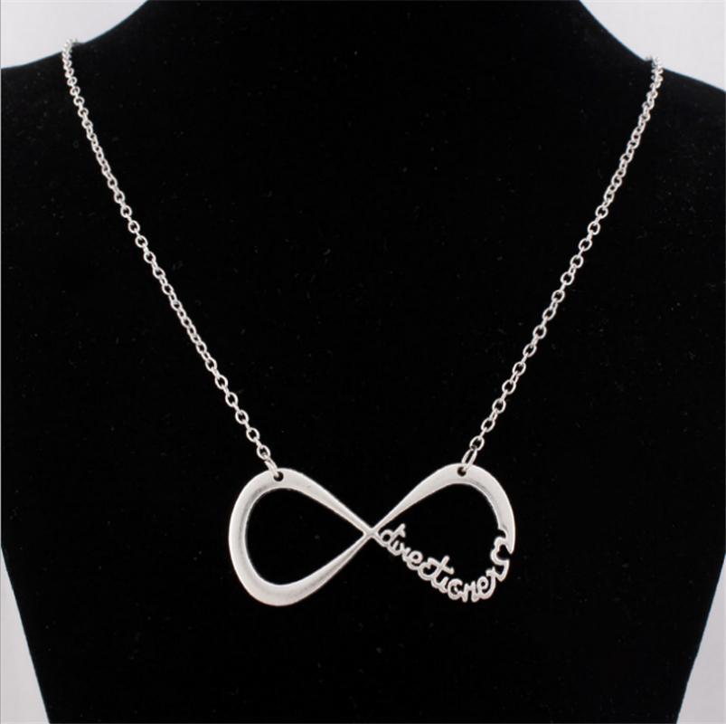 Wholesale Infinity Symbol Pendant Jewelry Ouroboros Necklace