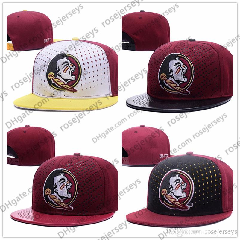 bf6af9ba94bc6 NCAA Florida State Seminoles Caps 2018 New College Adjustable Hats ...
