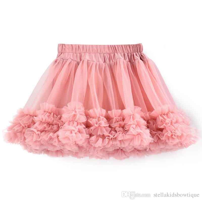 a36528353 New Pattern Girls Tutu Skirt Dust Pink Chiffon Ruffle Baby Girls Tutu Clothing  Summer Girls Party Skirt Pattern Pettiskirt Girls Tutu Skirt Pink Baby Girls  ...