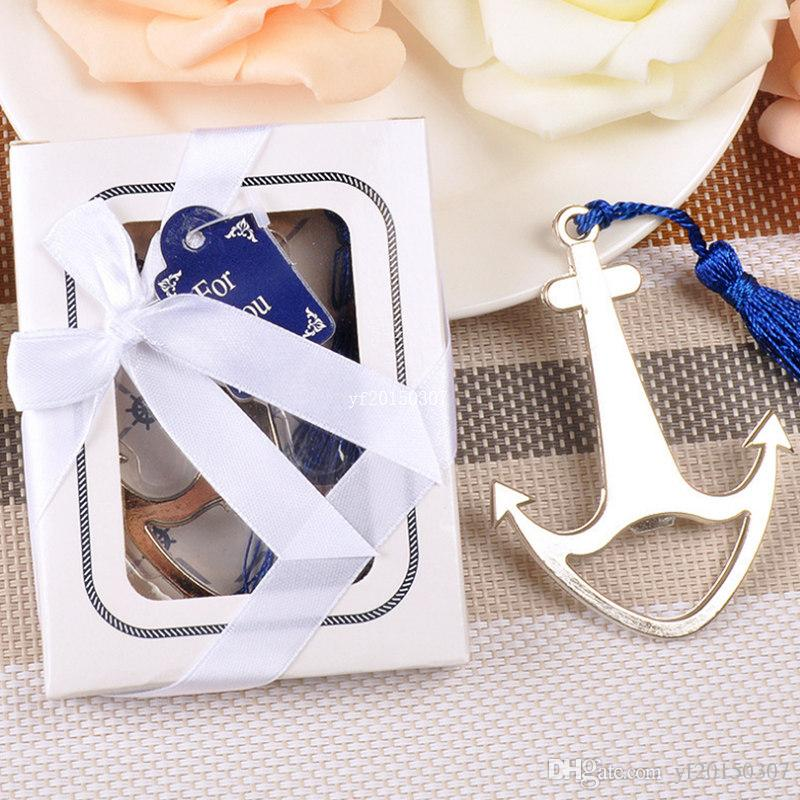 Pleasing Dhl Free Shipping Wedding Favors Gift Silver Nautical Themed Party Boat Anchor Beer Bottle Opener With Blue Tassel Party Decoration Supplies Download Free Architecture Designs Ogrambritishbridgeorg