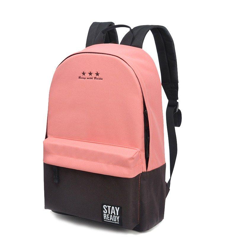 4f9454bcca Women Canvas Backpack School Bag For Teenagers Boys Girls Leisure Korean Backpack  Feminina Bolsas Mujer Backpacks Justice Backpacks Camping Backpack From ...