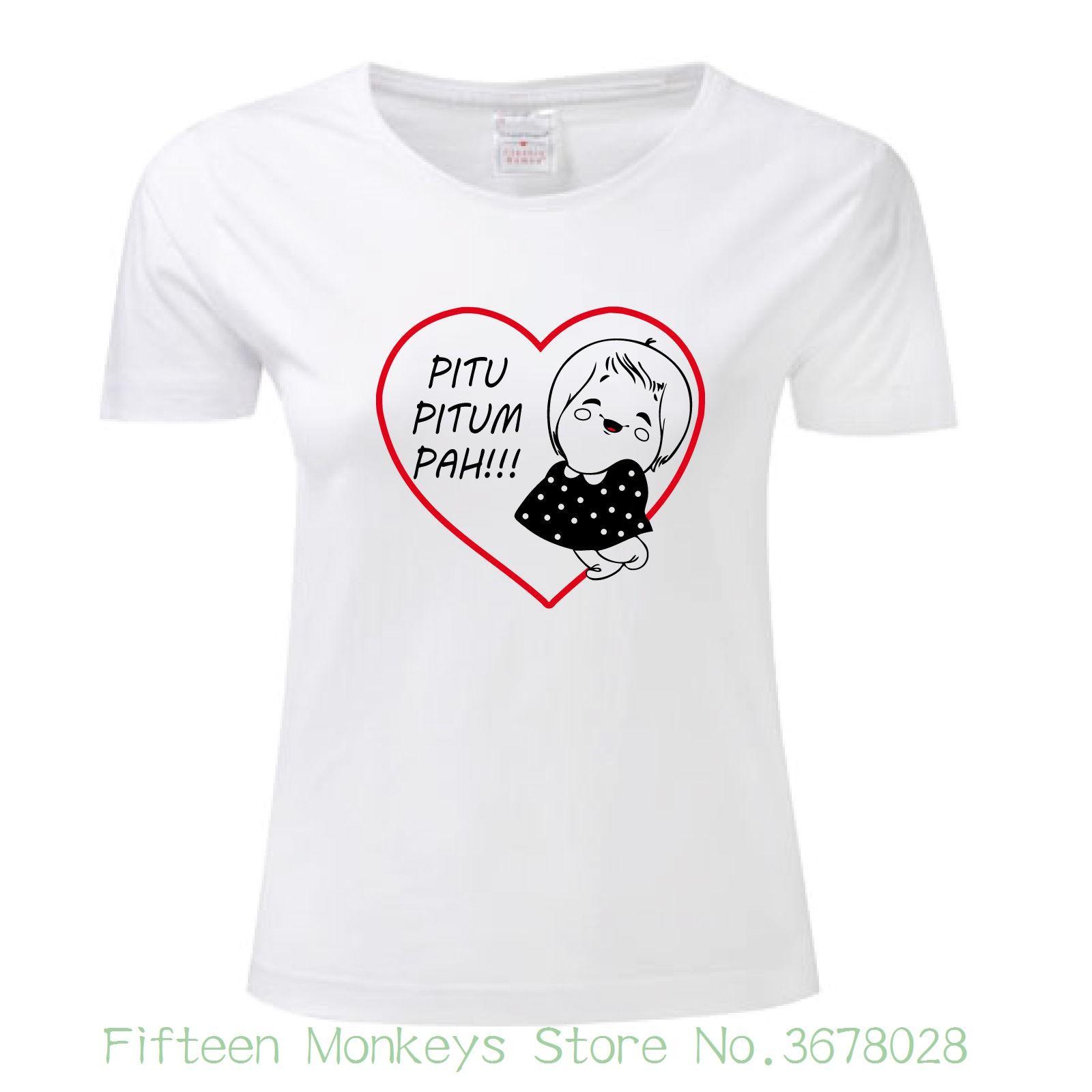 47deea1178016 Women'S Tee T Shirt Susanna Pitu Pitum Pah Tutta Panna Mitica Maglietta  Maglia Donna Woman Fashion Slim Women Funny Brand T Sirt T Shirt Sites From  ...
