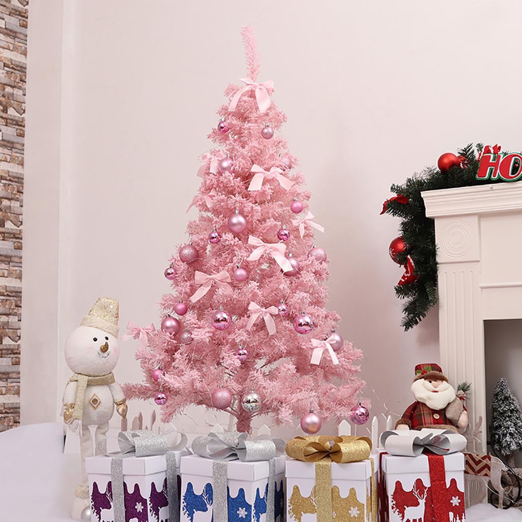 60cm artificial christmas tree snowflake xmas plastic tree new year home ornaments desktop decorations christmas - Cheap Discount Christmas Decorations