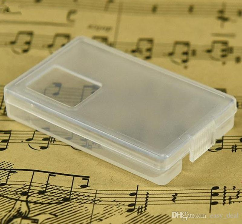 Small Parts Transparent Collapsible Plastic Boxes Small Jewelry Storage Packaging Box blade box fast shipping F20173334