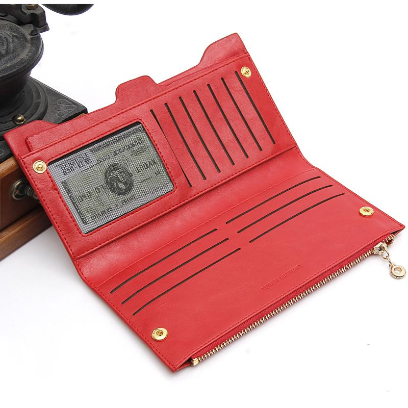 with zipper Coin Bag new 2019 women wallets brand purses female long thin wallet passport holder ID Card Case 838