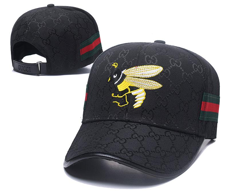 4f2cfda1c2f 2019 Popular G Ball Caps With Red Green Decor Strap Luxury Embroideried Bee  Leisure Hats Top Quality 6 Panel Fashion Baseball Cap Golf Visor Caps From  ...