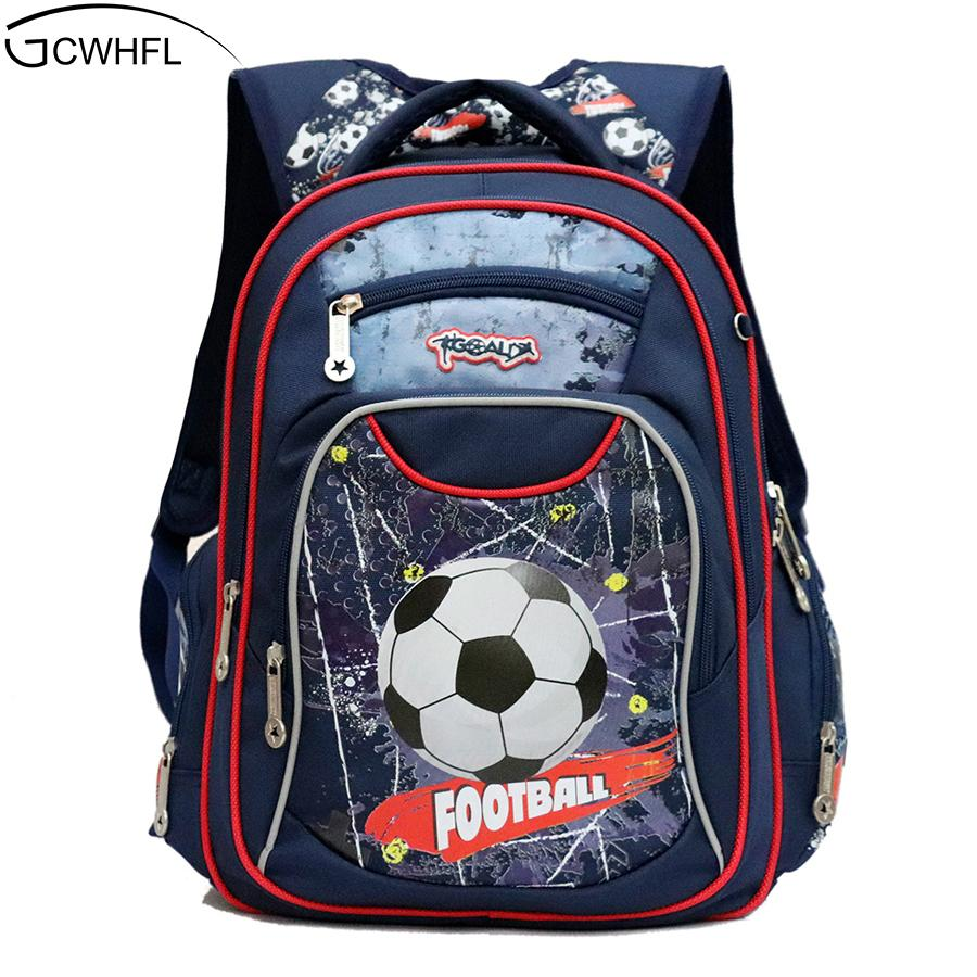 79c304b055e2 GCWHFL New Fashion Orthopedic Kids School Bags For Boys Backpack Kid  Waterproof Primary School Backpacks Children Grade 1 3 S914 Wheeled Backpack  Small ...