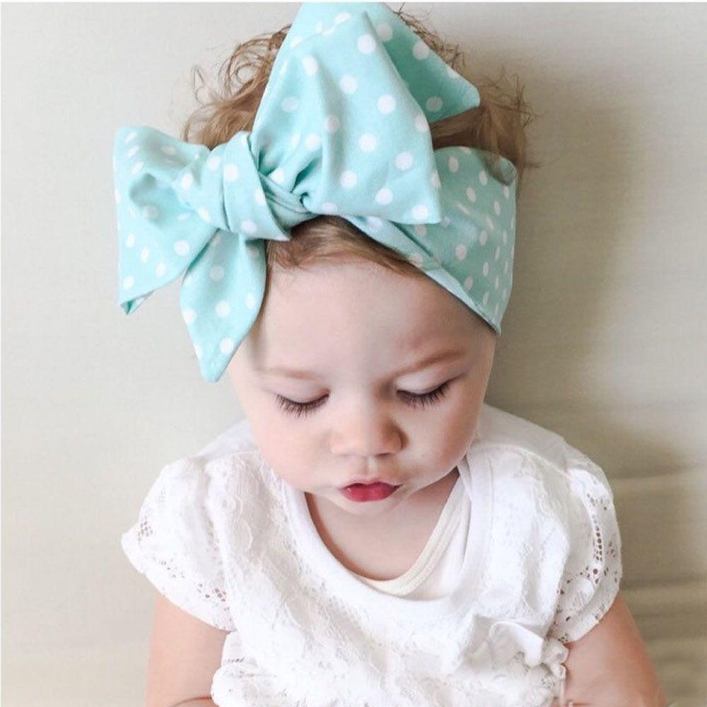 Fashion Baby Girl Dot Knot Headband Newborn Infant Hair Accessories  Children Elastic Hair Bands Fashion Hair Accessories Fashion Hair Clips  From Dhbong 59635ed7eb6