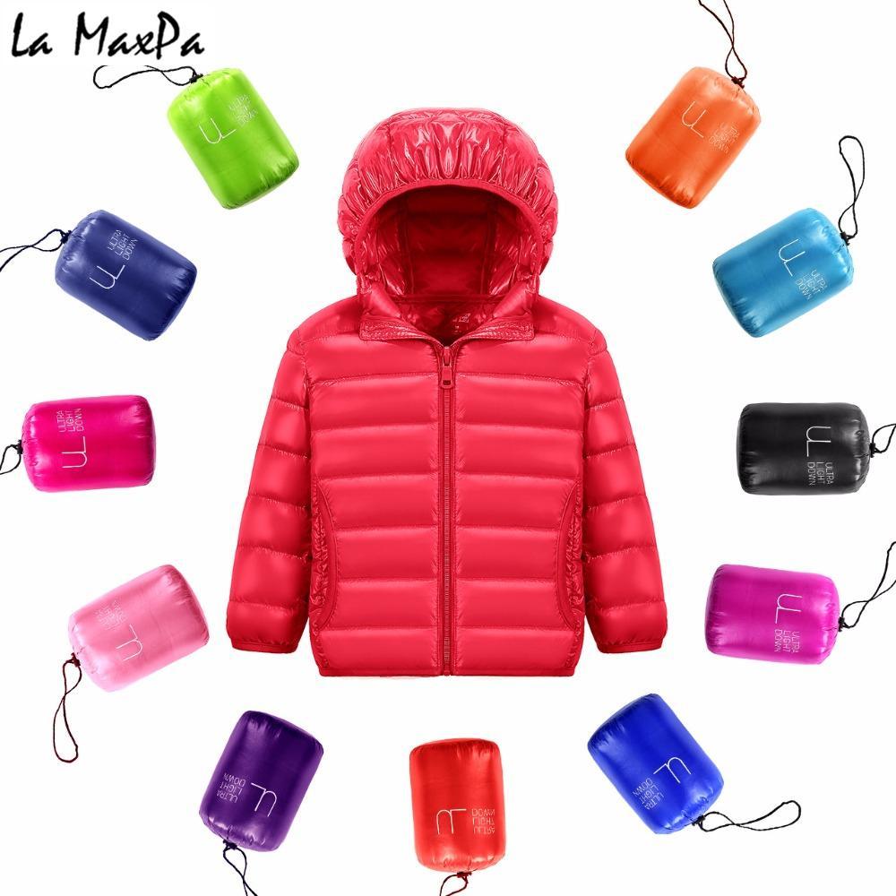4f6692e11b Acquista Giacche Da Bambino Cappotto Bambina Da Bambina Autunno Warm Down  Giacche Cappotto Con Cappuccio Junior Pakda Kids Winter Jacket Taglia  12345678 ...