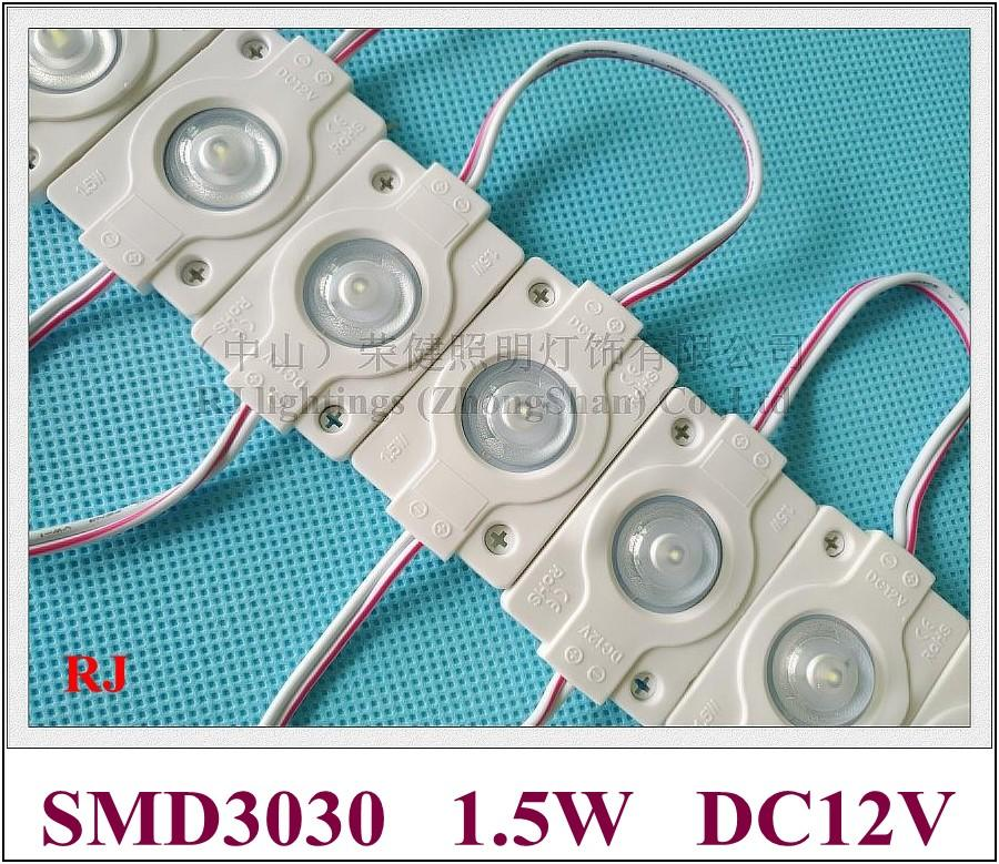 High Bright Waterproof Injection High Power 1.5W LED Module Lamp ...