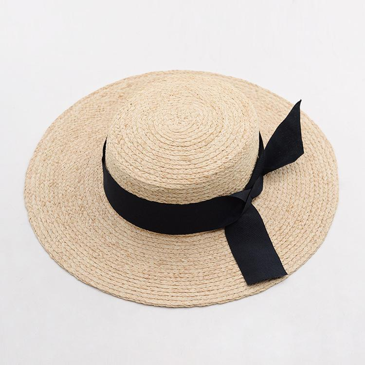 a9e7a924689b03 Muchique Natural Raffia Braid Panama Fedora Summer Sun Hats For Women Straw  Hat With Fray Raffia Edge Summer Hats For Women Bucket Hats For Women From  ...