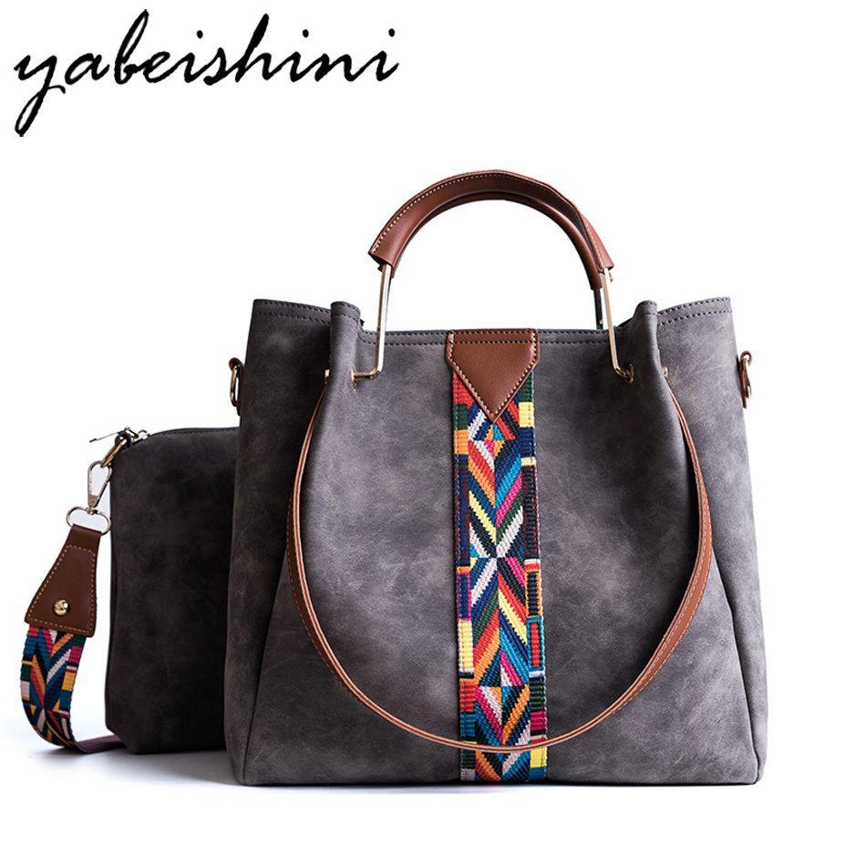f18d9531e2 Rainbow Shoulder Strap High Capacity Sac A Main Luxury Handbags Women Bags  Designer Handbag Bolsa Feminina Women BagY1883107 Online with  35.94 Piece  on ...