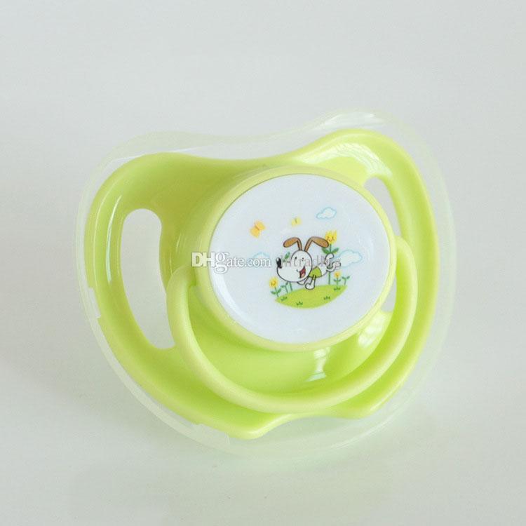 Newborn baby cartoon Pacifiers infant Food Grade Silicion Nipples Feeding Safe Girl Boy Gift C3577