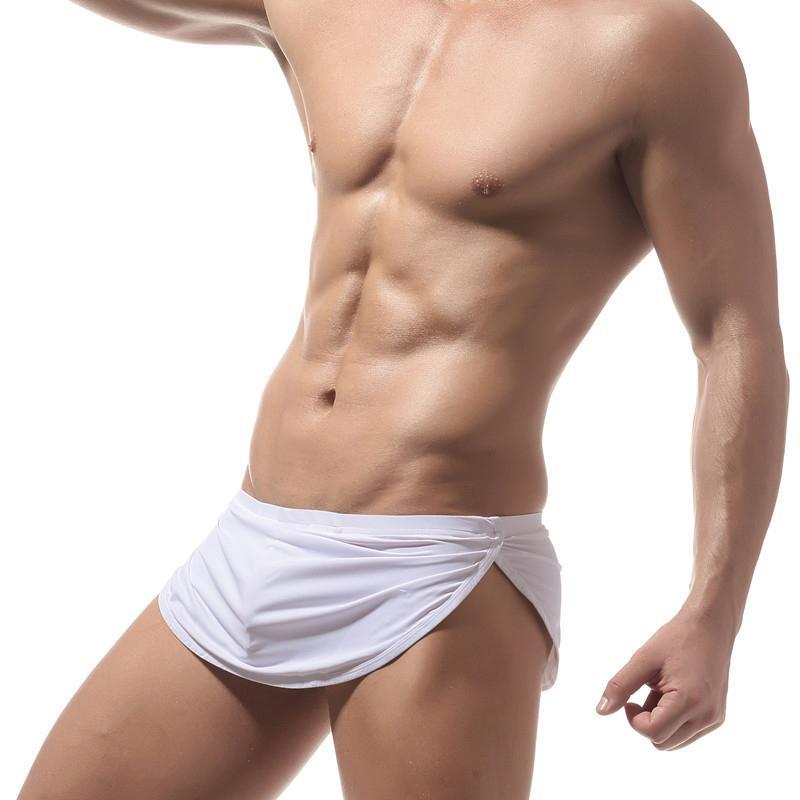 Vereinigt Neue Marke Wj Unterwäsche Männer Boxer Shorts Sexy Gaze Gestreiften Männer Höschen Sexy Badehose Für Männer Unterwäsche & Schlafanzug