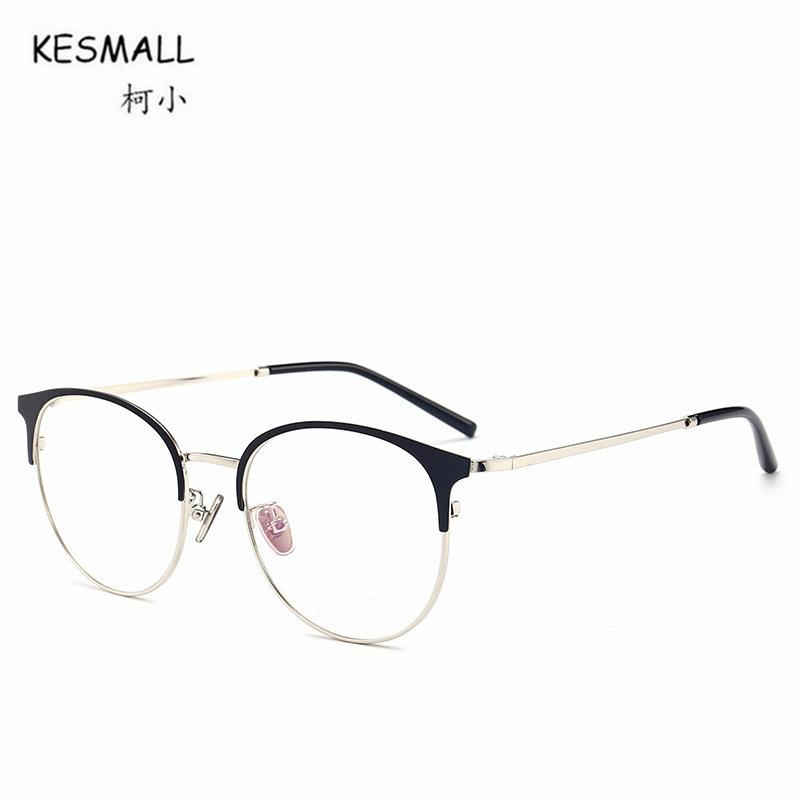 eb4292e9eb 2019 KESMALL Brand Design 2018 New Optical Glasses Frame For Women Clear  Lens Eyewear Men Computer Eyeglasses Frames Feminino XN152 From Milknew