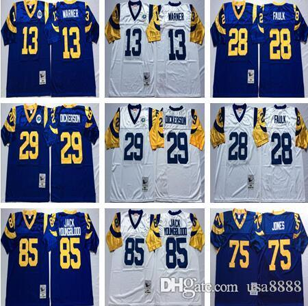 huge discount d7453 07632 canada blue and white los angeles rams jersey 12480 3c165