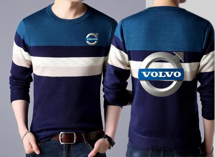 Großhandel Mode Neue Volvo Pattern Print Baumwolle Verdickung Männer