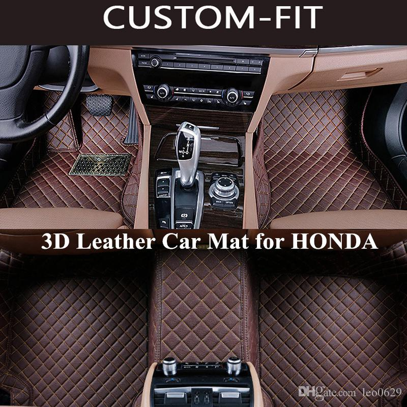 2019 Custom Car Floor Mats For HONDA CRV ACCORD CIVIC JAZZ ODYSSEY FIT CITY HRV Carpet Tapetes Para Automovil Tapete Carro Alfombra Coche From Leo0629, ...
