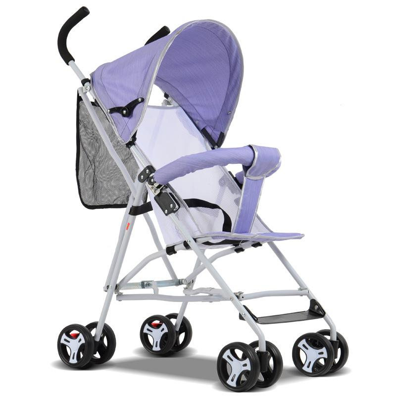 New Travel Baby Stroller High View Baby Prams Portable On The Plane K Arabas Kinderwagen Urltra Light Easy Carry Pushchairs