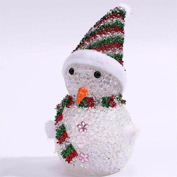 Weihnachtsdekoration Leuchtendes Spielzeugpuppe buntes Weihnachtsgeschenk-Spielzeug-Strömungsabriß, das Großhandel DHL Fedex freies Verschiffen verkauft