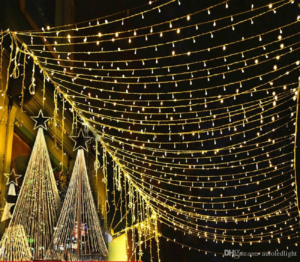 LED cordas 200 LED 2 m * 3 m Net Net Malha Luzes De Fadas Cintilação Iluminação Casamento De Natal