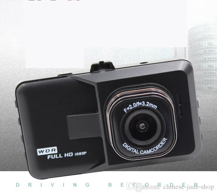 Black King Doubel Record Recorder 3.0inch CAR DVR FULL HD 1080P Car Reversing Camera 145 Degree Angle G-sensor Night Vision Video