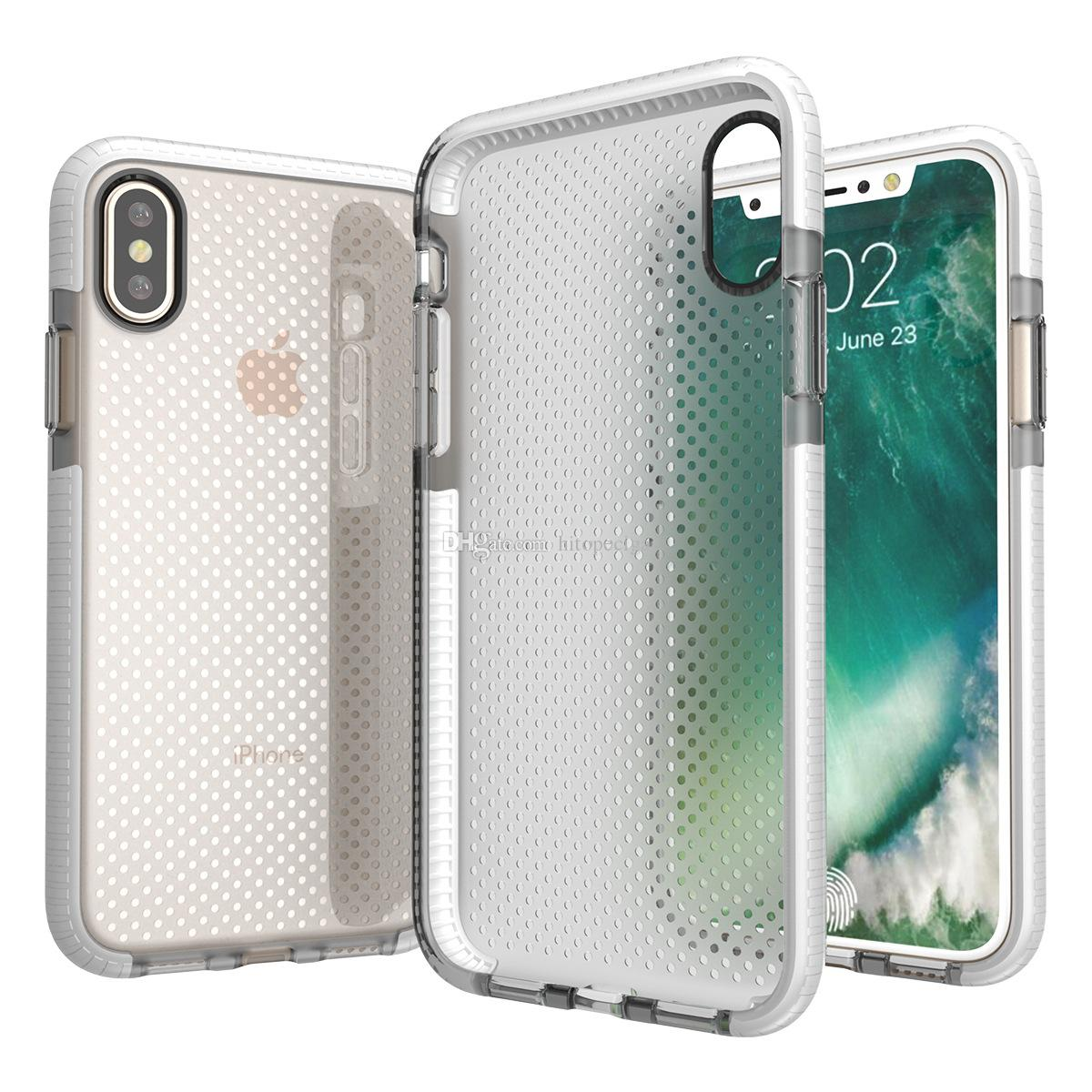 ultra-thin Transparent Clear Soft TPU Drop Protection Cases for Iphone 6 7 8 8plus XS XR XS Max Samsung S9 S9plus Note 9