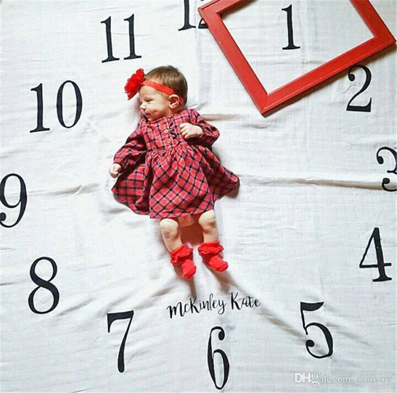 Großhandel Neue Baby Fotografie Hintergrund Decke Neugeborenes Baby ...