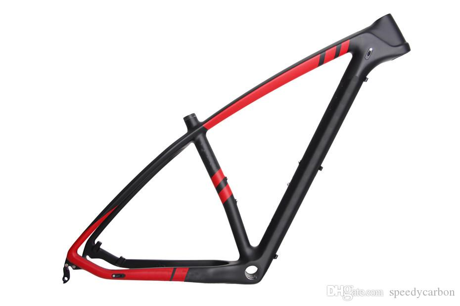 T1000 Carbon Mountain Bike Frame 2018 New Full Lightweight Mountain ...