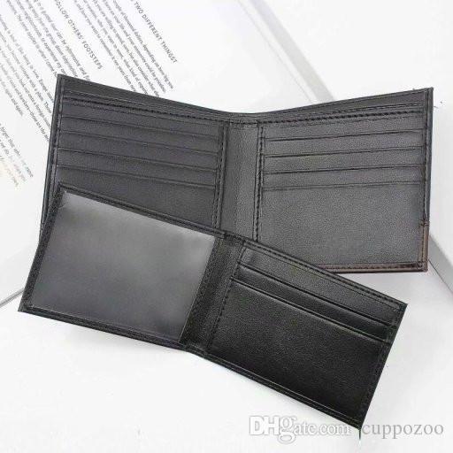 Gift Box set Wallet Genuine Leather Men's Casual Wallet And genuine leather Belt Business Credit Card ID Holders Men Purse