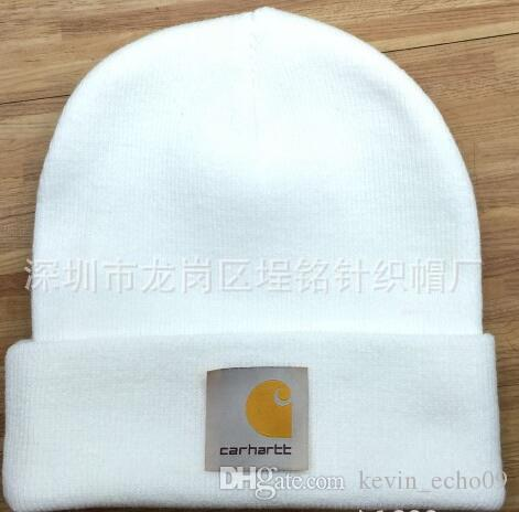 2019 2018 Hight Quality Carhartt Beanies Men Women Autumn Winter Beanies  Knitted Letter Embroidery Casual Ladies Pom Pom Gorro From August luck2 d26609b5cb6