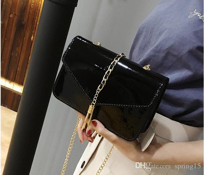a3e97a4a8 Fashion Ladies Bag Fashion New Chic Chain Bag Women Simple Joker Korean  Mini Shoulder Messenger Small Square Bag Special Online with  15.57 Piece  on ...