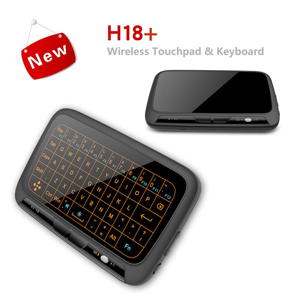 2018 new mini 2 4G mouse + keyboard all in one Touch control board Touch  Pad Support gesture manipulation for Android HTPC