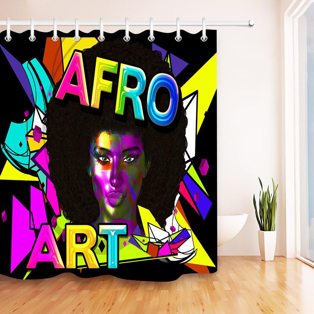 Acheter Imperméable Afro Art Fille Maquillage Africain Femme Modèle ...