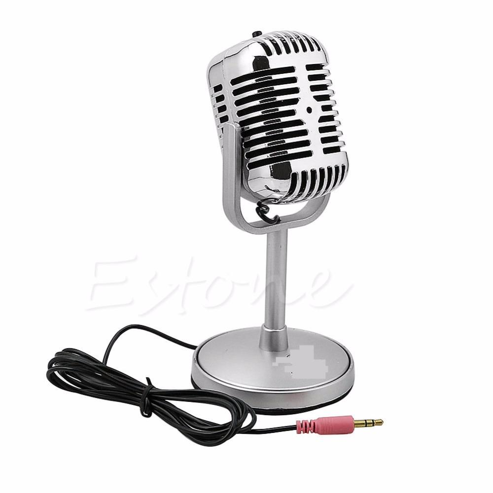 2019 arrival 3.5MM Stereo Recording Desktop Computer Laptop Mini Microphone For Sing Chatting Hot Sale