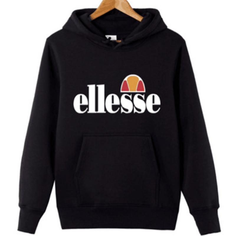 148c6cb4fb 2019 Brand Men Long Sleeve Hoodies Ellesse Pullover Fashion Casual ...