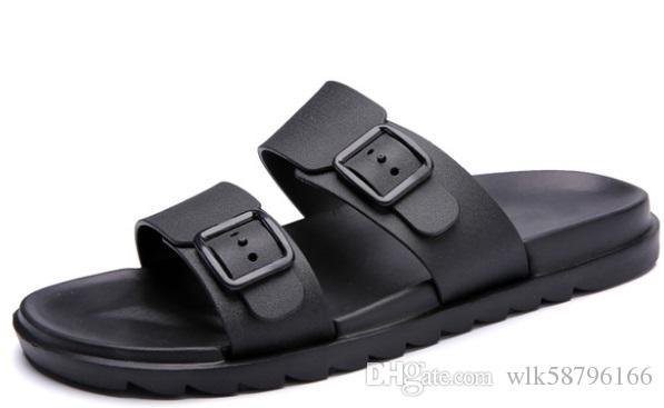 295517cc21208c Großhandel 2018 Sommer Stil Männer Flip Flops Strand Schuhe Sandalen Männer  Hausschuhe Sandalen Wohnungen Schuhe Herren Sandalen Sommer Schuhe Alias  Mujer ...