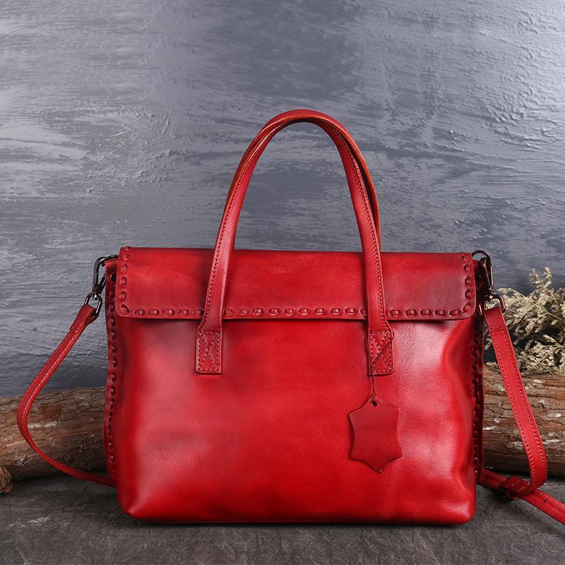 fa5f4a64bd Genuine Leather Women Handbags Tote Bolsa Feminina Fashion Cowhide ...
