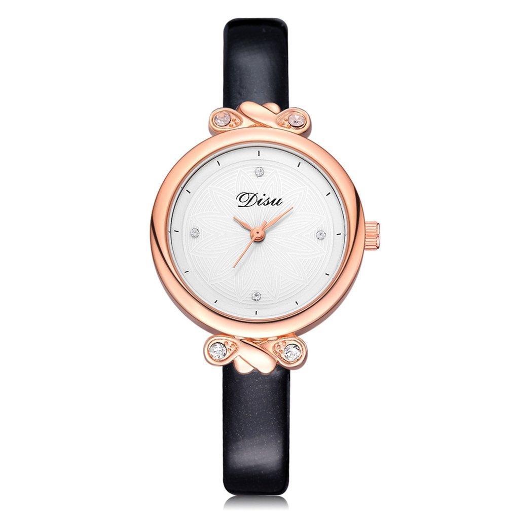 Compre GENBOLI Correa De Cuero Fino Pulsera Relojes Para Mujeres Relojes De  Pulsera De Cuarzo De Lujo Cristal De Lujo Vestido De Las Señoras Relojes  Reloj ... de9125bf6e20